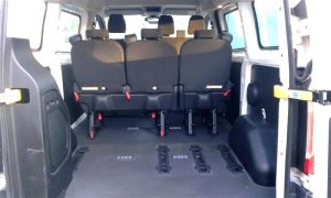 6 persoons luxe minibus