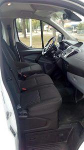 voorbank luxe minibus