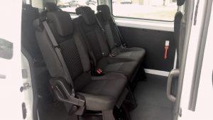 stoelen luxe minibus