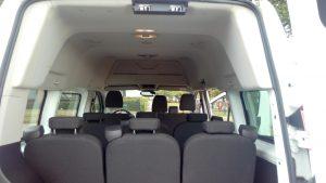 beluchting luxe minibus